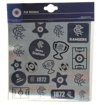 Minge Fotbal Team Foil Print Stickers