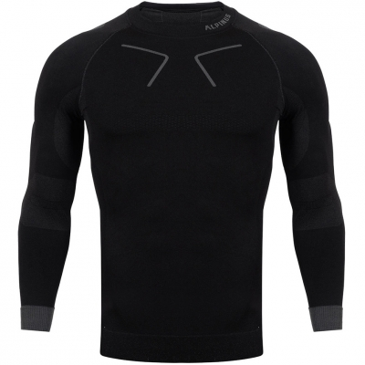 Men's Thermoactive Alpinus Tactical Base Layer Black and Gray GT43219