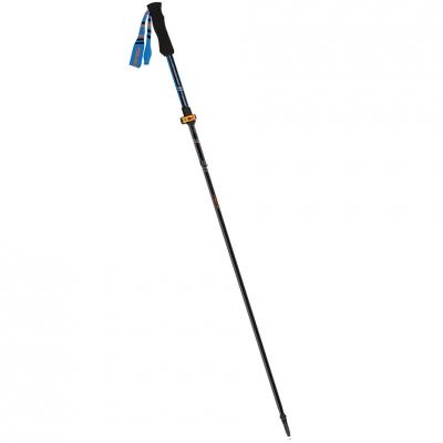 Trekking pole Viking Kettera Pro black-blue-orange 115-135 cm 610-22-7712-15-UNI