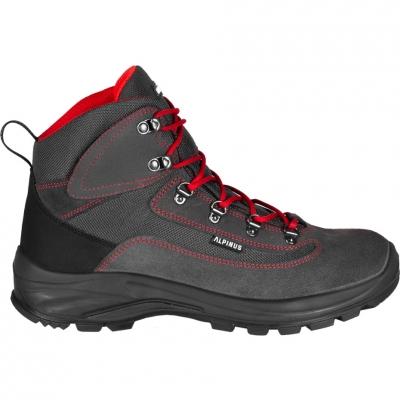 Pantof Trekking Alpinus Brahmatal High Active graphite-red GR43321