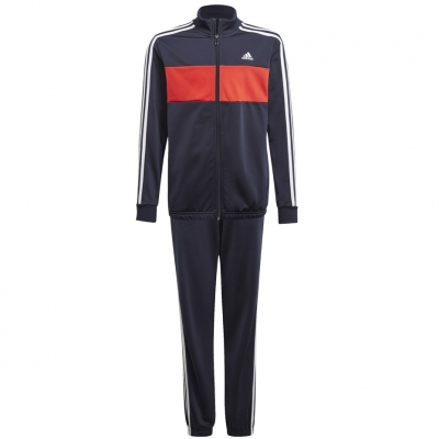 Trening Adidas Essentials Tiberio for navy blue-red GN3972 copil