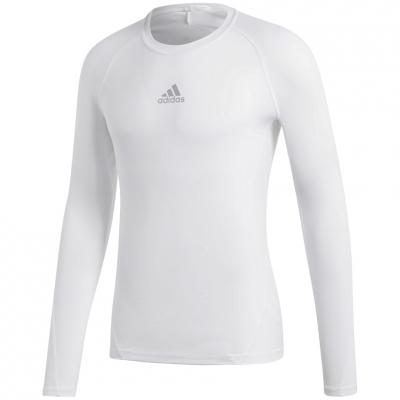 Tricou Camasa Men's t- adidas Alphaskin Sport LS white CW9487 adidas teamwear