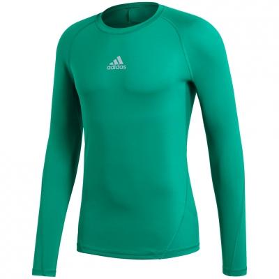 Tricou Camasa Men's t- adidas Alphaskin Sport LS green CW9504 adidas teamwear
