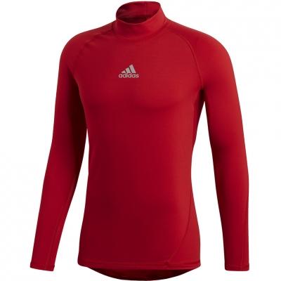 Tricou Camasa Adidas ASK SPR Longsleeve climawarm red T- DP5537 adidas teamwear