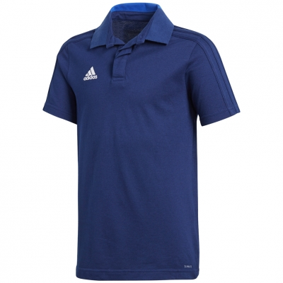 Camasa Adidas Condivo 18 Cotton Polo JR CF4368 T- adidas teamwear