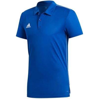 Camasa T- adidas CORE 18 POLO blue CV3590 adidas teamwear