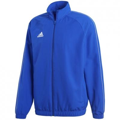 Adidas Core 18 Presentation blouse blue CV3685 adidas teamwear