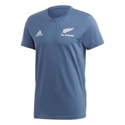 Camasa adidas New Zealand All Blacks Cotton T barbat