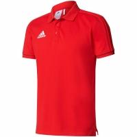 Camasa T- adidas TIRO 17 Cotton POLO red BQ2680 adidas teamwear