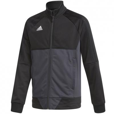 Camasa T- adidas TIRO 17 PES JR black-gray AY2876 adidas teamwear