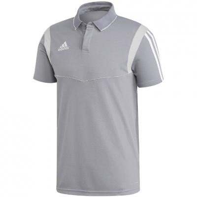 Camasa T- adidas Tiro 19 Cotton Polo gray DW4736 adidas teamwear