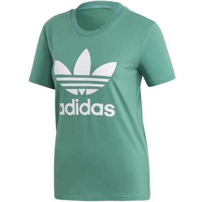 Tricou Adidas Trefoil 's green FM3300 dama