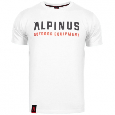 Camasa Men's T- Alpinus Outdoor Eqpt. white ALP20TC0033