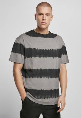 Tricou Oversized Striped Tye Dye Urban Classics