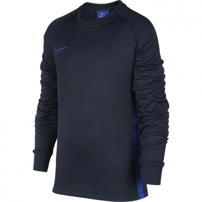 Camasa T- Nike Therma Academy Crew Top JR dark blue AO9186 451