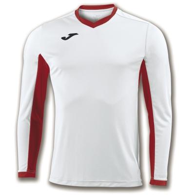 Camasa T- Champion Iv White-red L/s Joma
