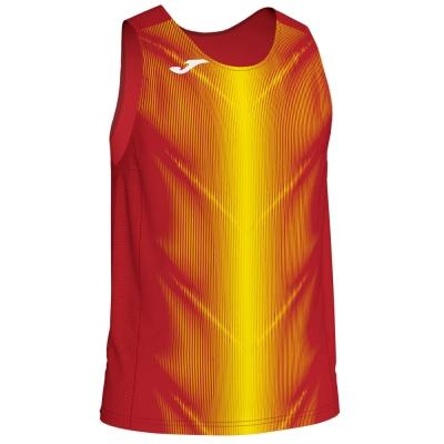 Camasa Olimpia T- Red-yellow Sleeveless Joma