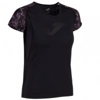 Tricou Joma Printed negru-anthracite cu maneca scurta pentru Dama