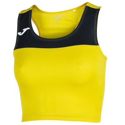 Camasa T- Race Yellow-black Sleeveless dama Joma