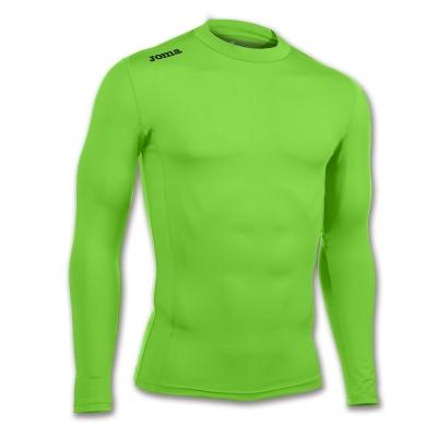 Camasa T- Green Fluor (seamless Underwear) L/s Joma