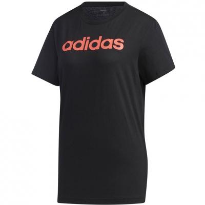 Tricou 's adidas Essentials Linear Loose black GL6333 dama