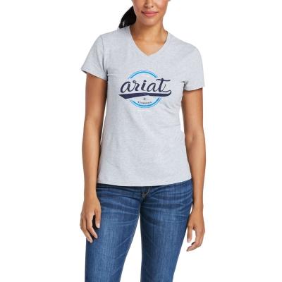 Camasa Ariat Authentic Logo Maneca Scurta T dama