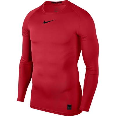 Camasa T- Nike Pro Top Compression LS red 838077 657