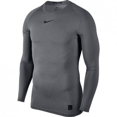 Camasa T- Nike Pro Top Compression LS gray 838077 091