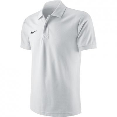 Nike Team Core Polo jersey white 454800 100