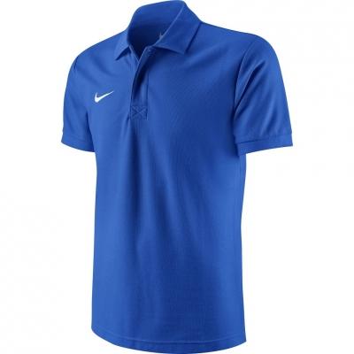 Nike Team Core Polo blue jersey 454800 463
