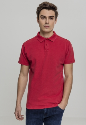 Garment Dye Pique Poloshirt Urban Classics