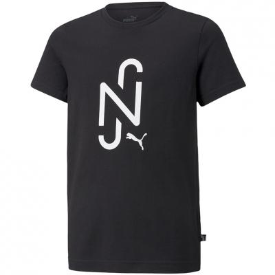 Camasa Puma Neymar Jr 2.0 T- Logo Black 605540 01 copil