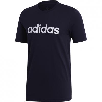 Tricou Camasa Adidas M Graphic Linear 3 T-, navy EI4600