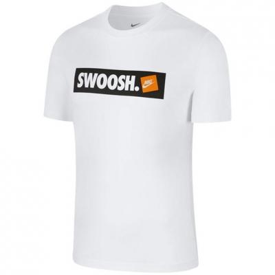 Tricou Camasa Men's T- Nike Swoosh white AR5027 100