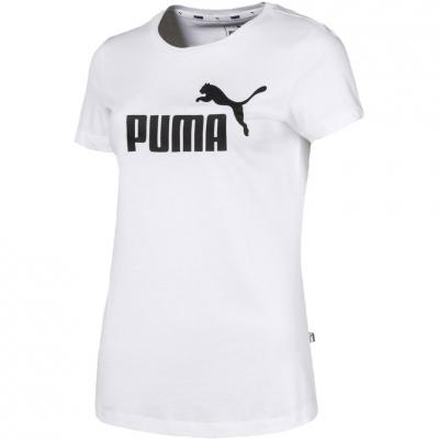 Tricou Camasa 's T- Puma Ess Logo white 851787 02 dama