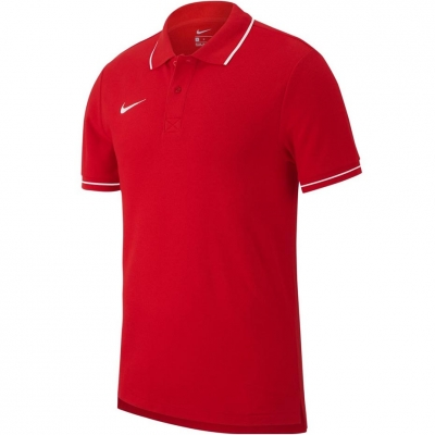 Camasa Men's T- Nike Polo Team Club 19 SS red AJ1502 657