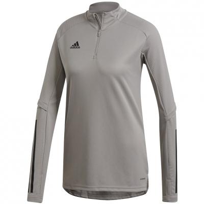's adidas Condivo 20 Training Top W gray FS7091 dama adidas teamwear