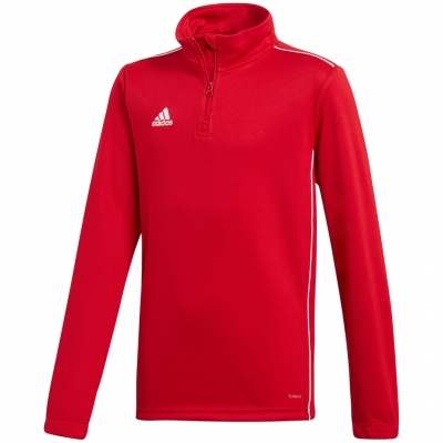 Bluza trening adidas Core 18 Training Top JR red CV4141 adidas teamwear