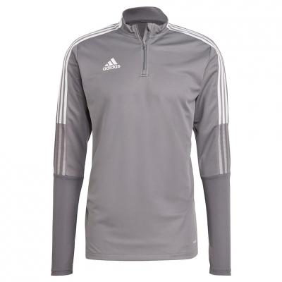 Men's adidas Tiro 21 Training Top gray GH7301 adidas teamwear