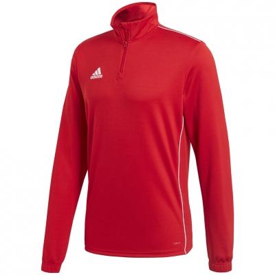 Bluza trening adidas Core 18 Training Top red CV3999 adidas teamwear