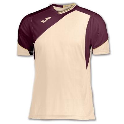 Camasa T- Tennis White-burgundy S/s Joma