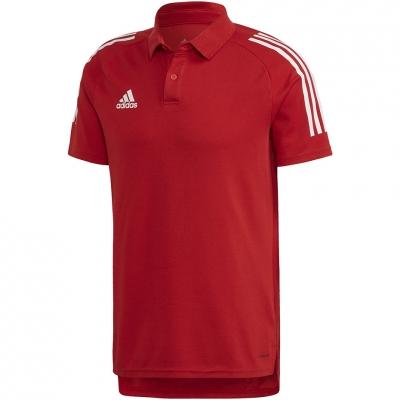 Camasa Adidas Condivo 20 Polo men red-white ED9235 adidas teamwear