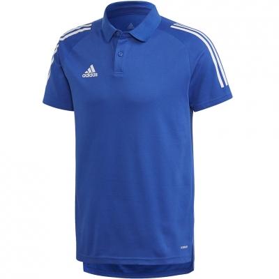 Camasa Men's Adidas Adidas Condivo 20 Polo blue-white ED9237 adidas teamwear