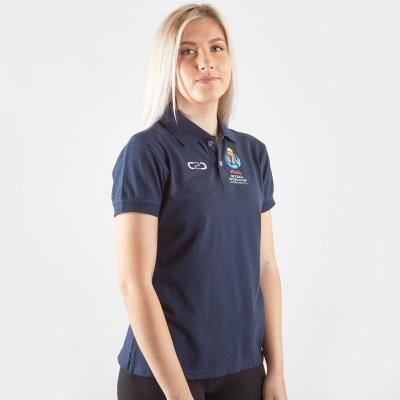Camasa C2C Netball WC 2019 Fitted Polo dama
