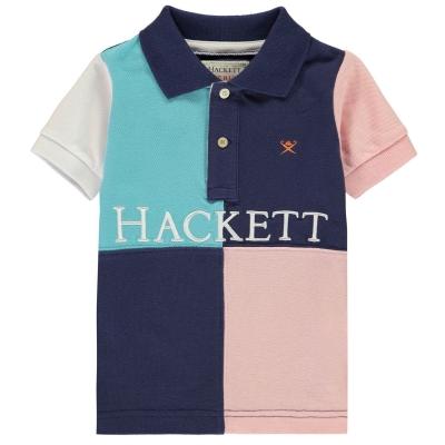 Camasa Hackett Hackett Quad Panel Cotton maneca scurta Polo baietel
