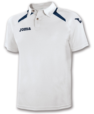 Polo Champion Ii White-navy Joma