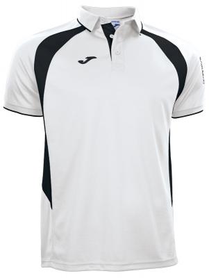 Polo Champion Iii White-black S/s Joma