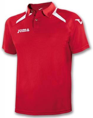 Polo Champion Ii Red-white Joma