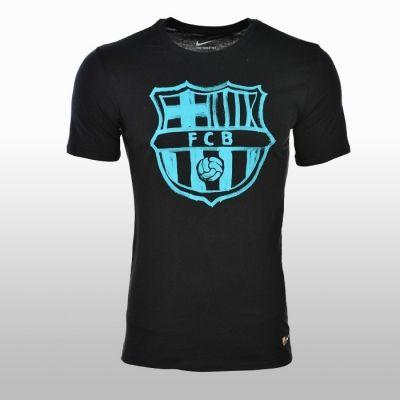 Tricouri sport Nike FC Barcelona Barbati negru