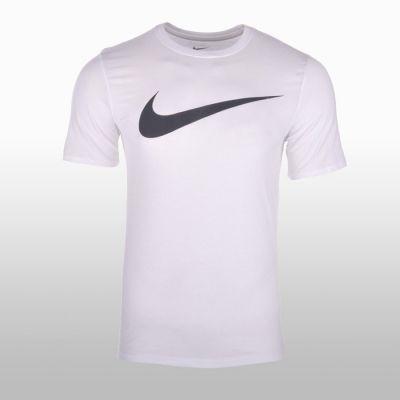 Tricouri sport Nike Tee-chest Swoosh Barbati alb
